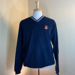 anheuser busch fleece with pockets size large